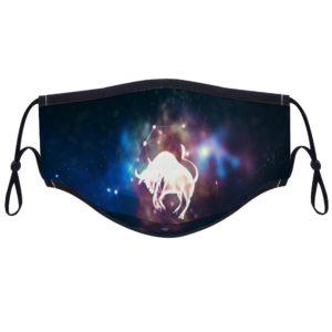 Taurus - With Two Filters Customizable Face Cover Ordinary Face Cover for Women and Men