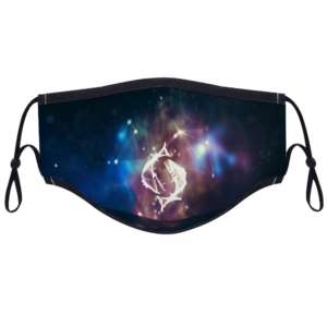 Pisces - With Two Filters Customizable Face Cover Ordinary Face Cover for Women and Men