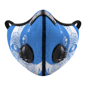 Moon Eye (blue) Customizable Face Cover Outdoor Dust Proof Face Cover