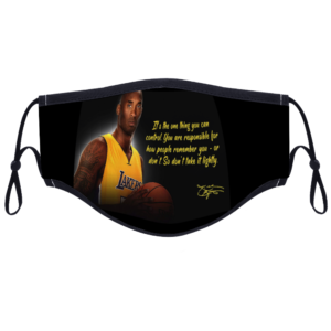 Kobe Bryant - With Two Filters Customizable Face Cover Ordinary Face Cover for Women and Men